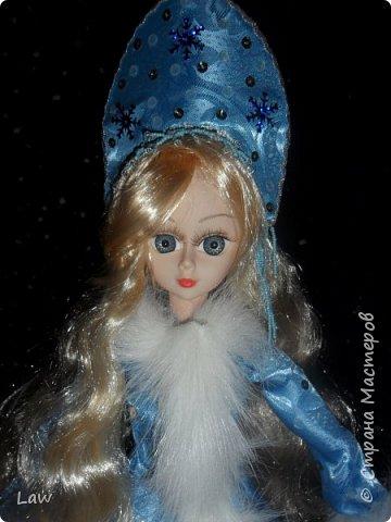 продолжаю новогоднюю тематику! ))) моя любимица Руж принарядилась в наряд Снегурочки!!  фото 7