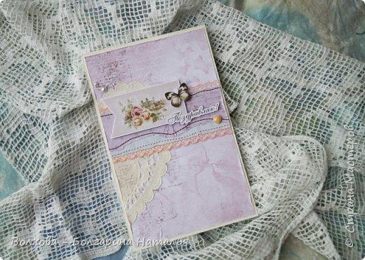 Всем привет! Это конечно странно - фоткать летнюю открытку на фоне снега - но раз приспичило сделать летнюю открытку почти зимой, то куда деваться:) фото 2