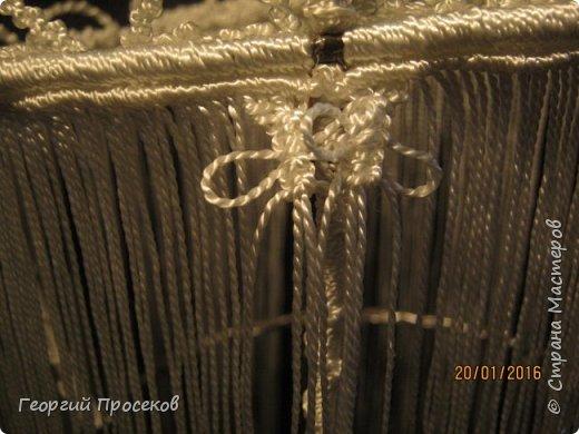 Предлагаю мой МК по плетению такой корзинки-конфетницы. Если судить по датам на фото, то МК сделал за 8 дней. Если без МК, то такую работу делаю за 2 дня. фото 66