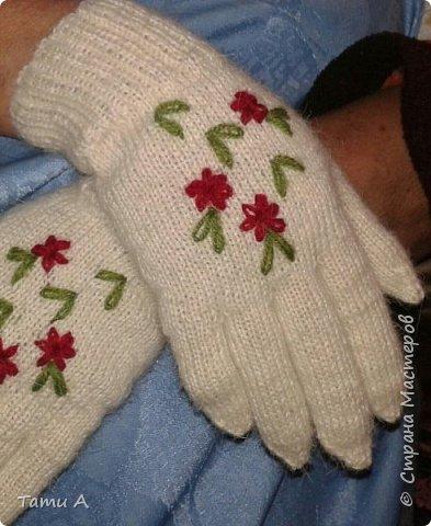 Перчаточки для мамы к зиме))))) фото 1