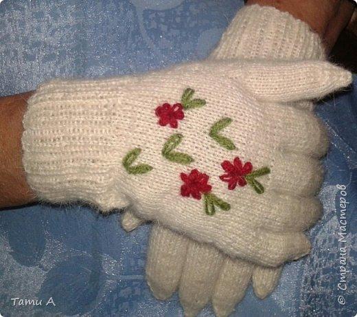 Перчаточки для мамы к зиме))))) фото 2