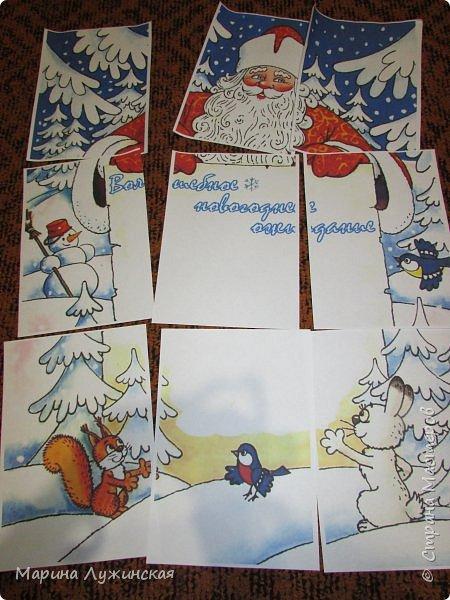 Всем ДОБРЫЙ ДЕНЬ!  Хочу показать наш КАЛЕНДАРЬ ОЖИДАНИЯ НОВОГО ГОДА, который сделала сегодня ночью своим детишкам для месяца декабрьского волшебства, сюрпризов и новогоднего настроения... Ожидание Нового Года - это наша самая любимая, самая яркая семейная традиция. Подробней о ней Вы  можете почитать у меня на страничках  в чудной Стране Мастеров.  фото 6