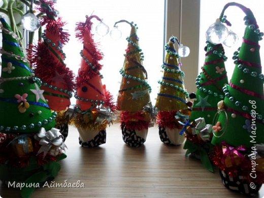 Добрый день) вот такие елочки у меня получились к новому году))  фото 1