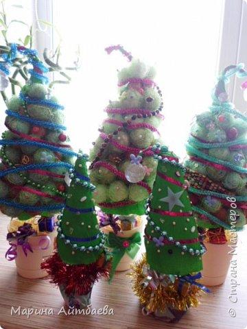 Добрый день) вот такие елочки у меня получились к новому году))  фото 12