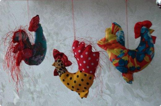 Новогодняя игрушка Петушок. Мастер класс в фотографиях. фото 13