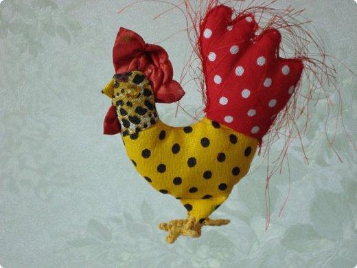 Новогодняя игрушка Петушок. Мастер класс в фотографиях. фото 15