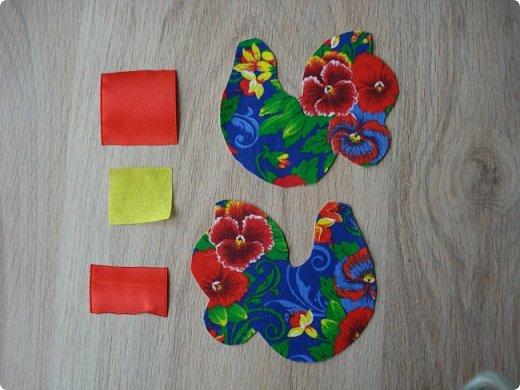 Новогодняя игрушка Петушок. Мастер класс в фотографиях. фото 2