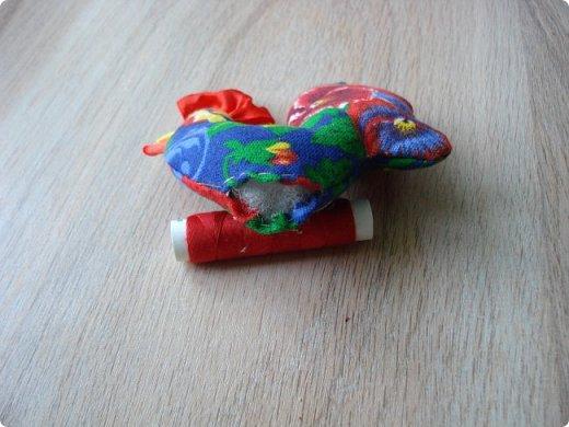 Новогодняя игрушка Петушок. Мастер класс в фотографиях. фото 10