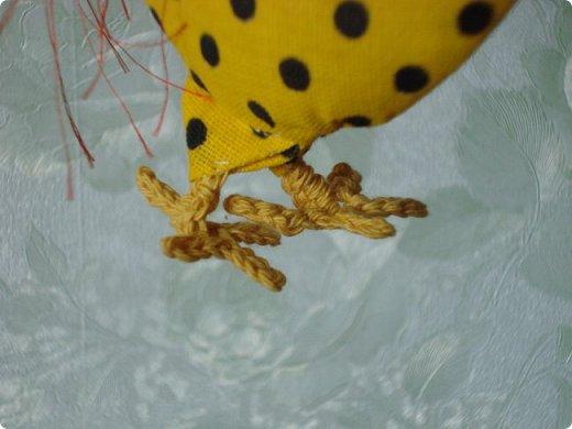 Новогодняя игрушка Петушок. Мастер класс в фотографиях. фото 17