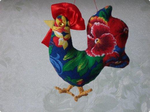 Новогодняя игрушка Петушок. Мастер класс в фотографиях. фото 1