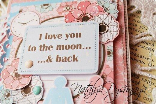 Всем привет!!!А у меня на сегодня нежная открытка!I love you to the moon...& back... фото 3