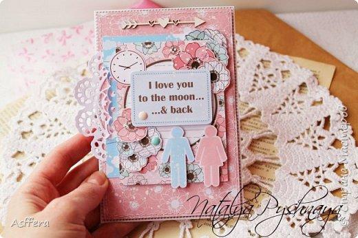 Всем привет!!!А у меня на сегодня нежная открытка!I love you to the moon...& back... фото 2