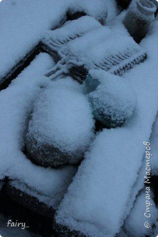 Эх,вот и наступила долгожданная зима!!! Снег застал врасплох...после дождей и слякоти наступила самая настоящая сказка)))) фото 11