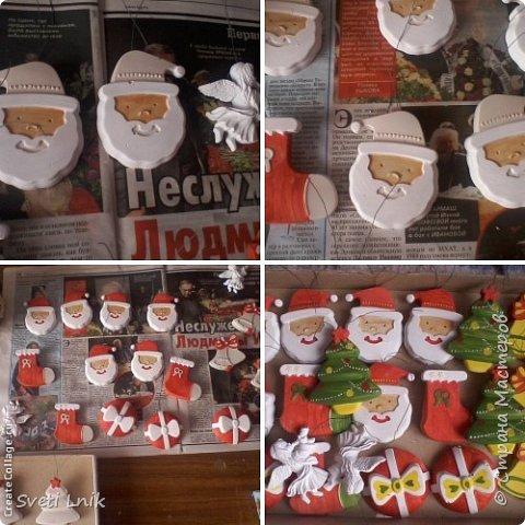 Вот такими милыми игрушками будем украшать елочку на Новый год)) фото 3
