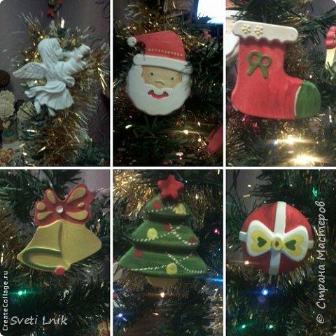 Вот такими милыми игрушками будем украшать елочку на Новый год)) фото 1