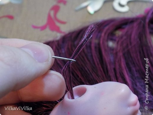 Как я перепрошиваю голову кукле. фото 5