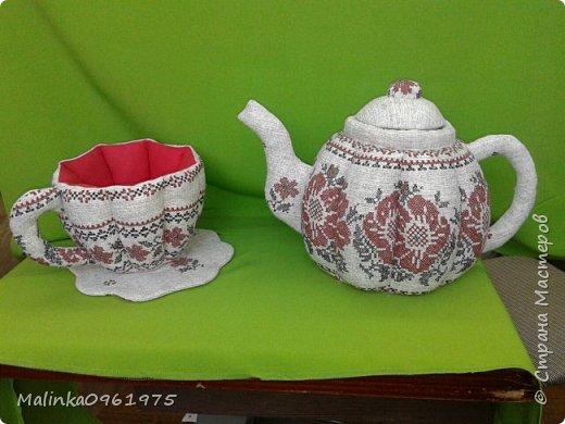 Чашка- ваза для конфет и заварник для хранения чайных пакетиков  фото 1