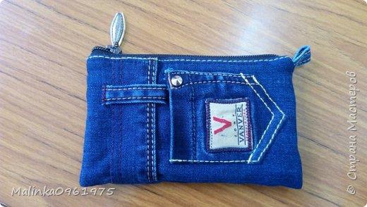 Чехол для телефона из старых джинс фото 1