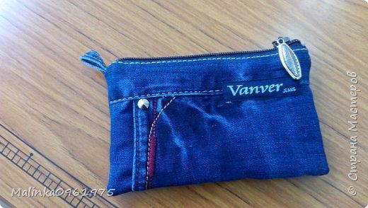 Чехол для телефона из старых джинс фото 3