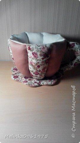 Чашка- ваза для конфет и заварник для хранения чайных пакетиков  фото 4