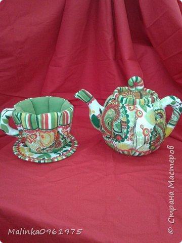 Чашка- ваза для конфет и заварник для хранения чайных пакетиков  фото 3