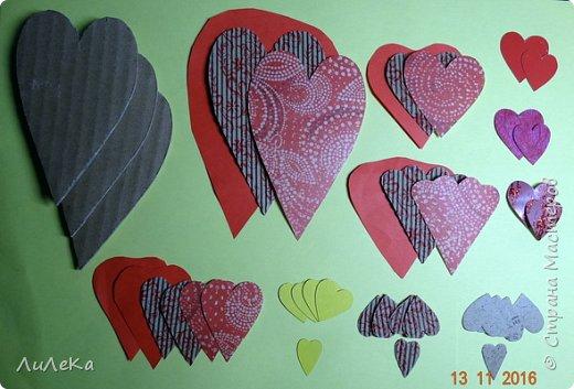 Я к вам с новогодними петушками. С сердечными! Все детали петушков в форме сердца. фото 5
