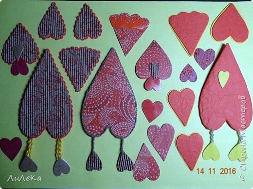 Я к вам с новогодними петушками. С сердечными! Все детали петушков в форме сердца. фото 10