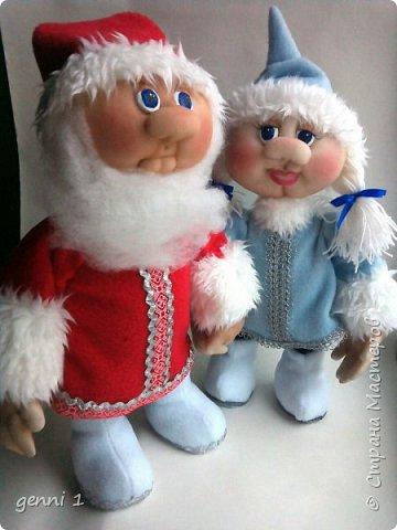 Куклы сделаны по мк Ирины Мокреевой. фото 2