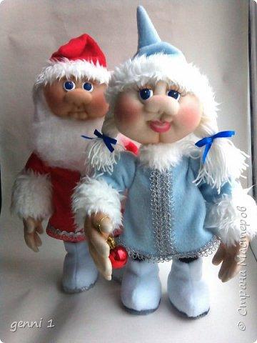 Куклы сделаны по мк Ирины Мокреевой. фото 1
