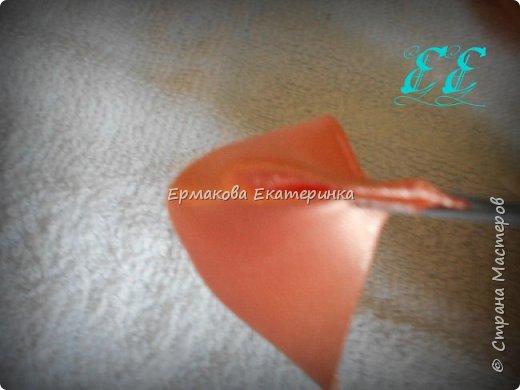 Вот такая чудесная резиночка для пучка у меня появилась))) фото 10