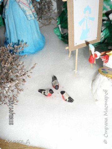 Вот такую поделку мы сделали в садик. Обязательное условие было - наличие Снегурочки. фото 31