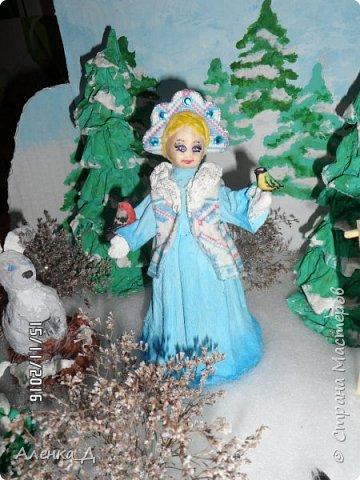 Вот такую поделку мы сделали в садик. Обязательное условие было - наличие Снегурочки. фото 33