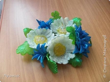 Мои цветочки из мыла фото 2