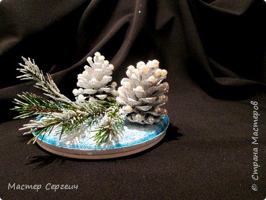 Новогодняя композиция или новогодний декор своими руками