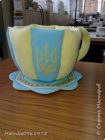 Чашка- ваза для конфет и заварник для хранения чайных пакетиков  фото 8