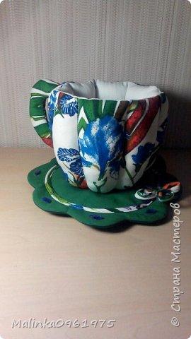 Чашка- ваза для конфет и заварник для хранения чайных пакетиков  фото 7