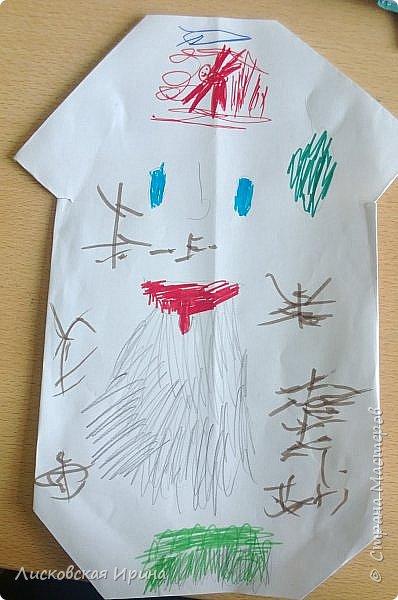 Благодаря работам Натальи http://stranamasterov.ru/node/1048597?c=favorite, мои маленькие первоклассники сделали грибочки.  фото 5