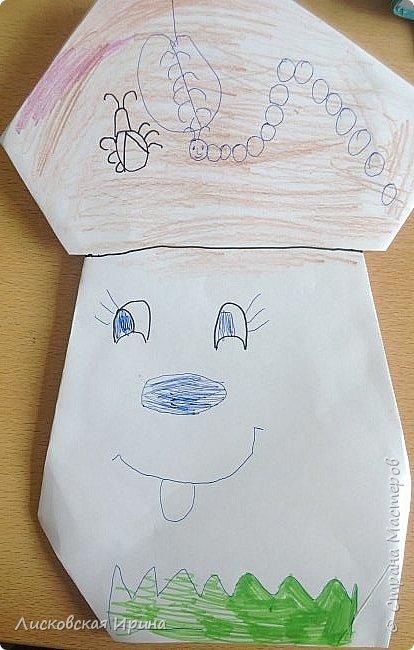 Благодаря работам Натальи http://stranamasterov.ru/node/1048597?c=favorite, мои маленькие первоклассники сделали грибочки.  фото 7