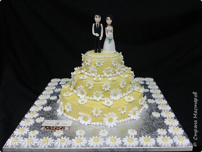 Работы моей дочи. Торты свадебные фото 6
