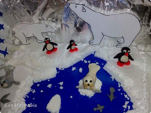Северное сияние, звездопад и Умка с мамой медведицей) Лоло и Пипи тоже здесь) фото 4