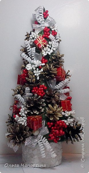 Добрый день, уважаемые коллеги! Изменяя полимерной глине, захотелось новогоднего настроения и новых рукоделок: никогда не делала ёлки. Вот получились такие варианты. фото 2