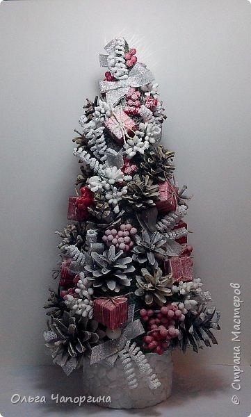 Добрый день, уважаемые коллеги! Изменяя полимерной глине, захотелось новогоднего настроения и новых рукоделок: никогда не делала ёлки. Вот получились такие варианты. фото 3