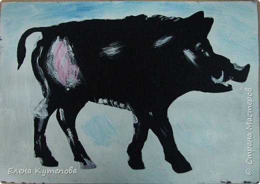 """Мое очередное занятие для детей про """"Мир художников"""". В этот раз оно было посвящено наивному искусству и одному из ярчайших его представителей - грузинскому художнику Нико Пиросмани. фото 4"""