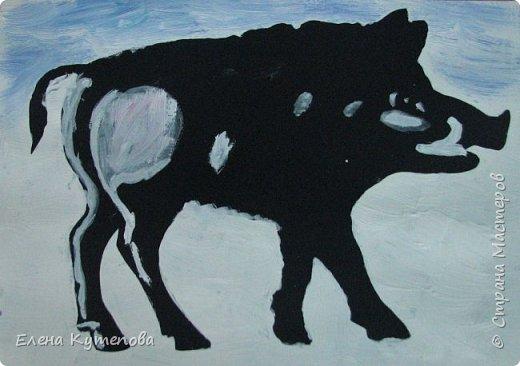 """Мое очередное занятие для детей про """"Мир художников"""". В этот раз оно было посвящено наивному искусству и одному из ярчайших его представителей - грузинскому художнику Нико Пиросмани. фото 5"""