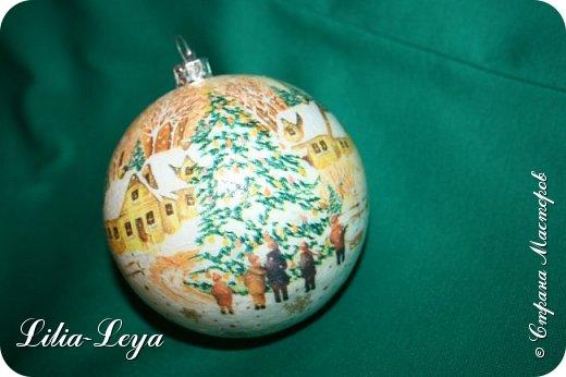 Этот новогодний шарик появился благодаря Натальи Борс  http://stranamasterov.ru/user/320442                                             и подсказанному ею   МК  Viktori   http://stranamasterov.ru/node/879537 фото 4