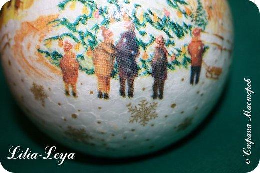 Этот новогодний шарик появился благодаря Натальи Борс  http://stranamasterov.ru/user/320442                                             и подсказанному ею   МК  Viktori   http://stranamasterov.ru/node/879537 фото 6