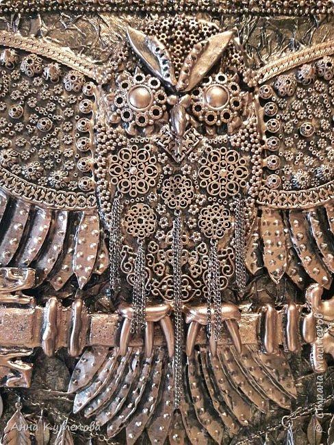 """Ключница: """"Летящая сова"""". Сделана по примеру http://stranamasterov.ru/node/847946?c=favorite  фото 5"""