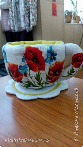 Чашка- ваза для конфет и заварник для хранения чайных пакетиков  фото 9