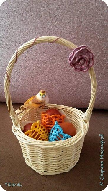 Шапочки для пасхальных яиц спицами. фото 2