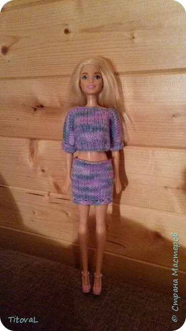 Решила приодеть Барби. фото 2